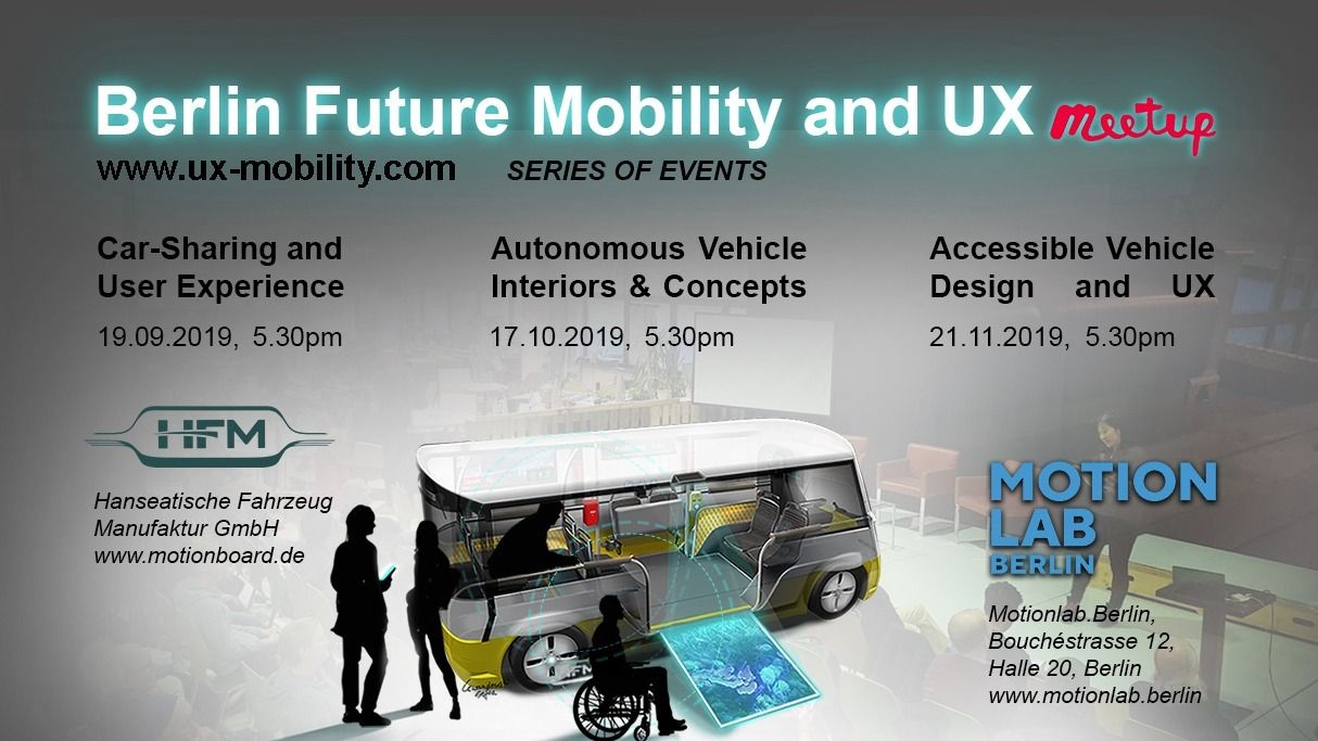 Berlin Future Mobility and UX