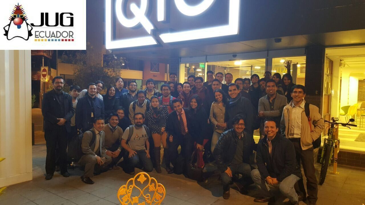 EcuadorJUG Java User Group;  Grupo de Usuarios Java Ecuador