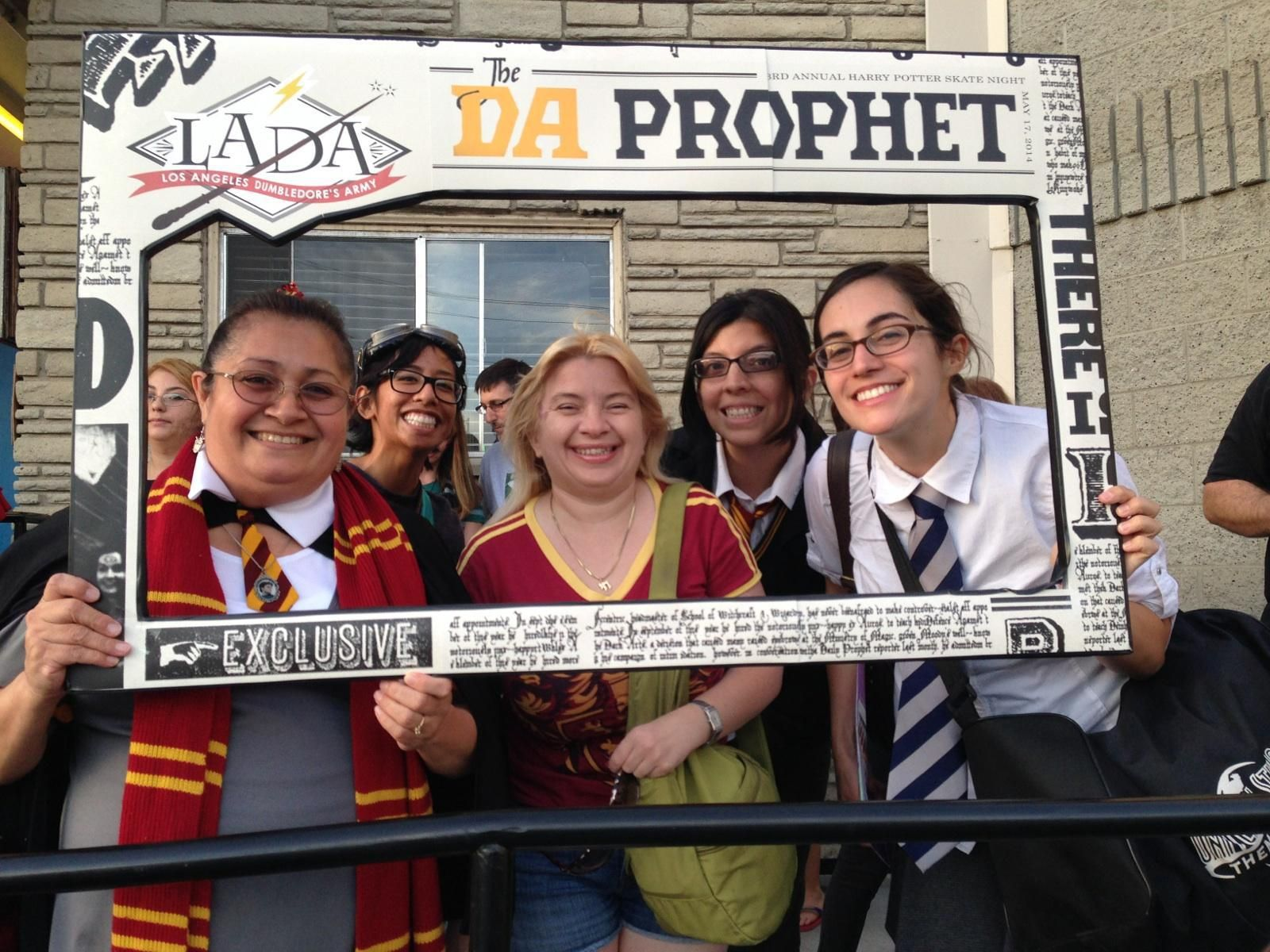 The Los Angeles Dumbledore's Army (Harry Potter Fans)!