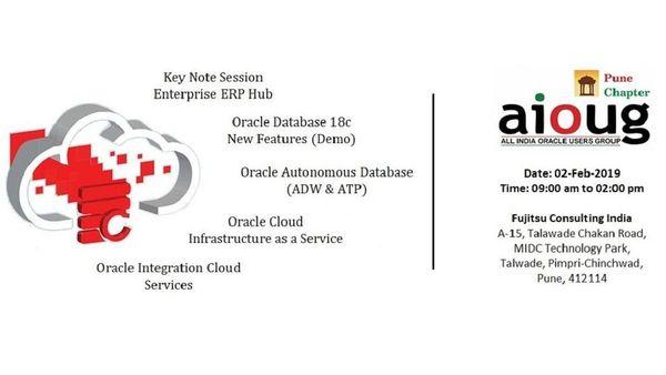 AIOUG Pune : Oracle Cloud & 18c   Meetup