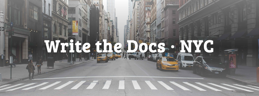 Write the Docs NYC
