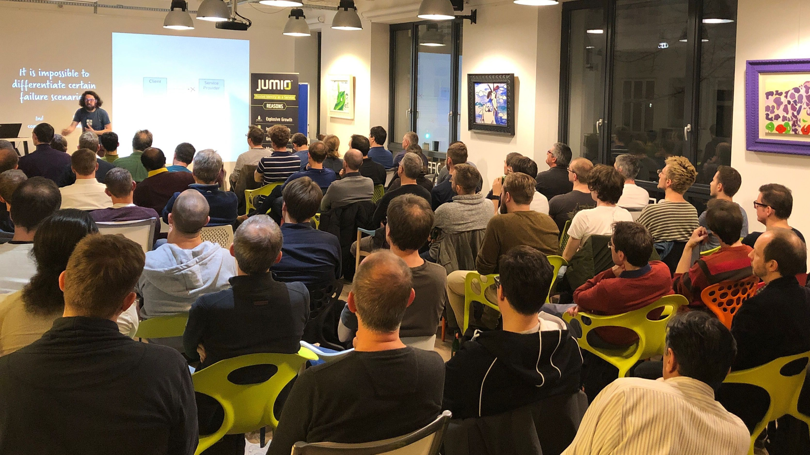 Microservices, Reactive and Distributed Systems Vienna