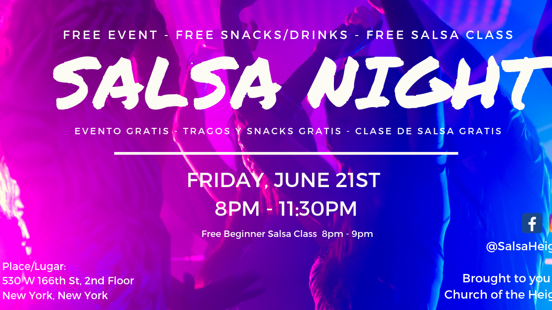Salsa Night in Washington Heights