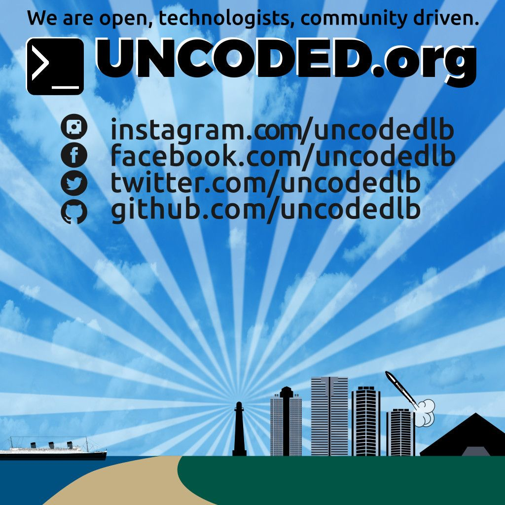Uncoded | Long Beach Tech Meetups & Events