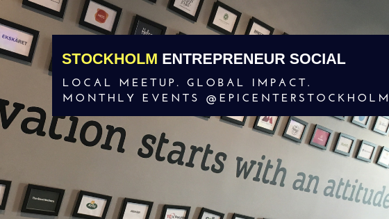 Upcoming Events | Stockholm Entrepreneur Social (Stockholm, Sweden)
