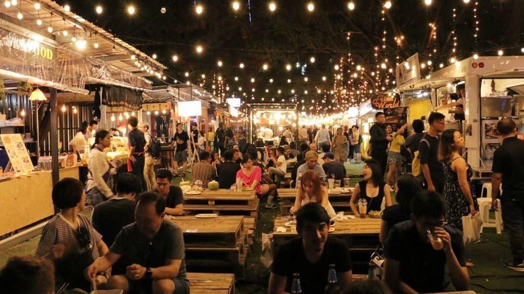 Bangkok Night Market Hangouts