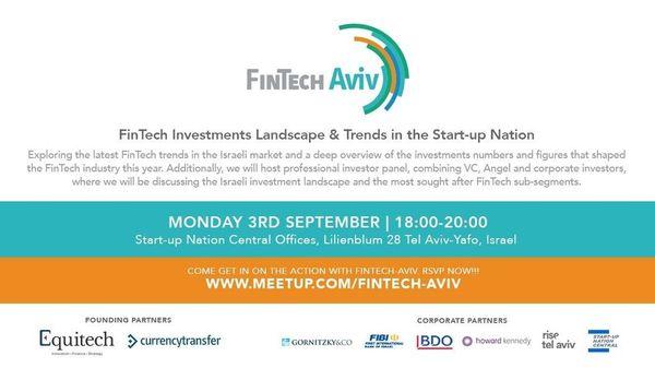 September 3 Event- FinTech Investments Landscape & Trends in