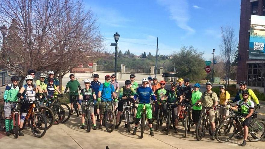 The Hammerin' Wheels Mountain Bike Club