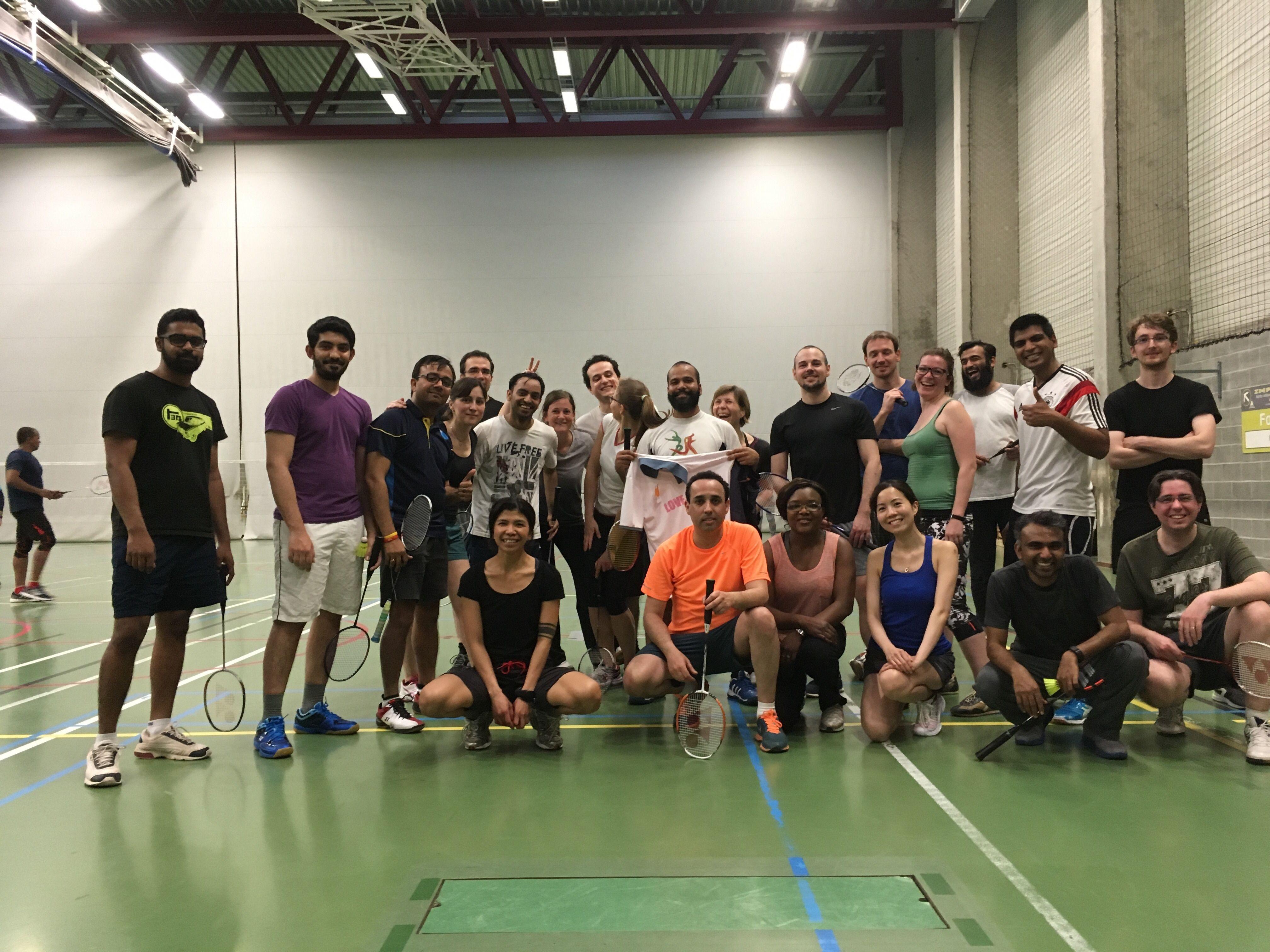 Brussels Badminton Meetup