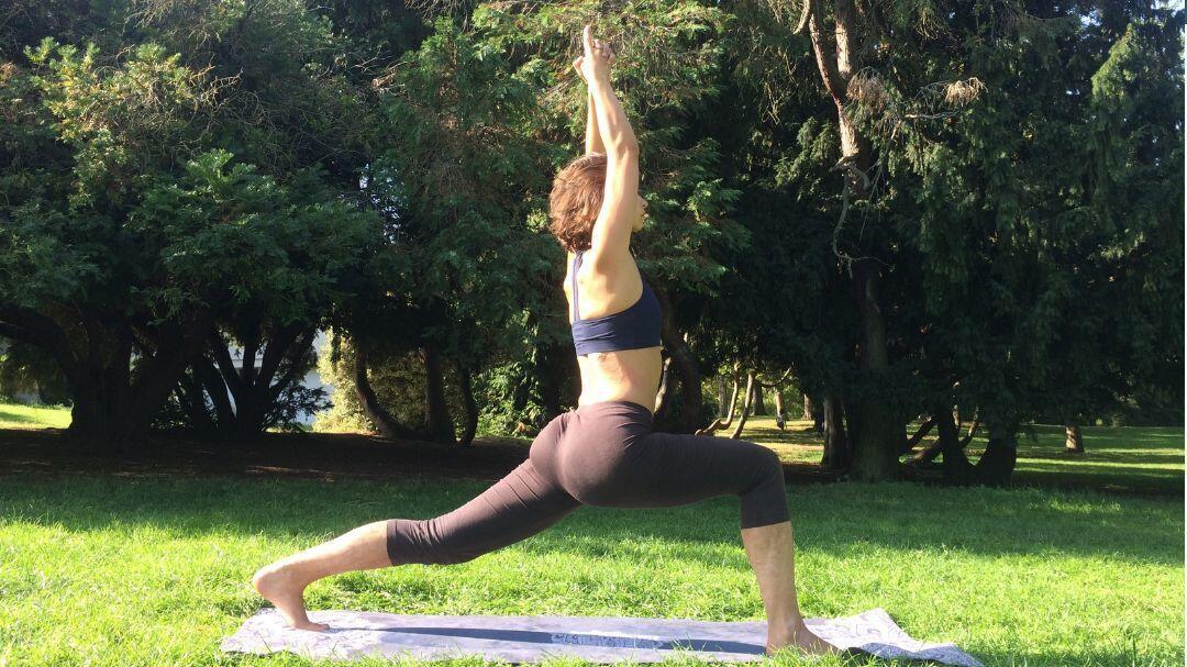 Yoga en plein air - Parc Montsouris