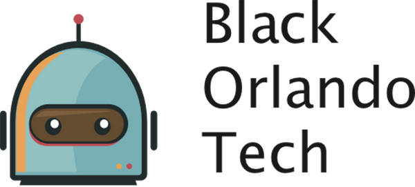 meetup logo for Black Orlando Tech (BOT)