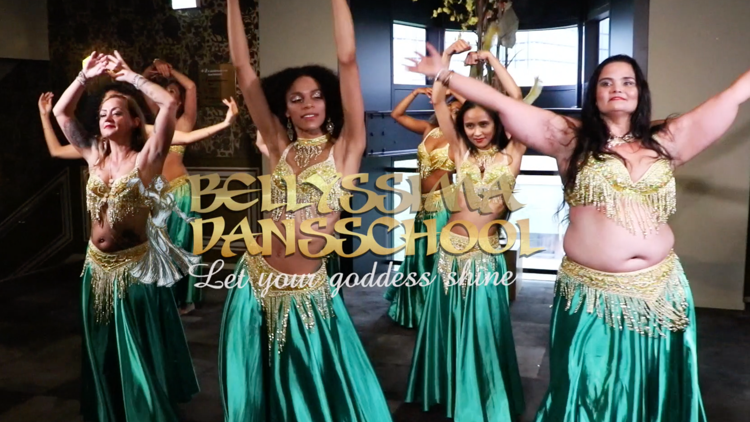 Bellydance Fusion class semi-advanced (Feel and look good)
