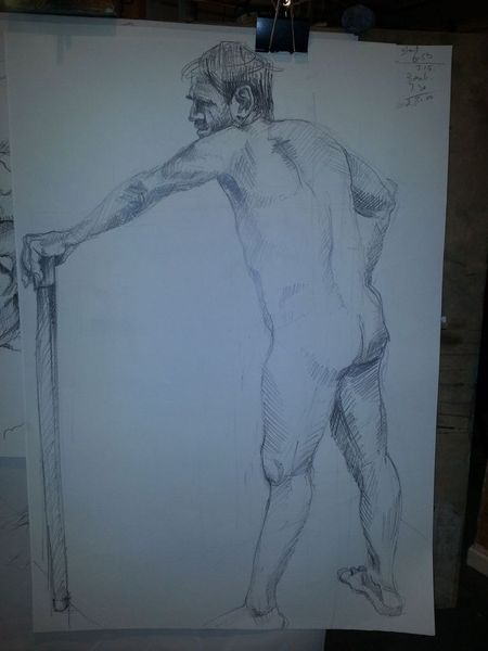 Begin Life drawing