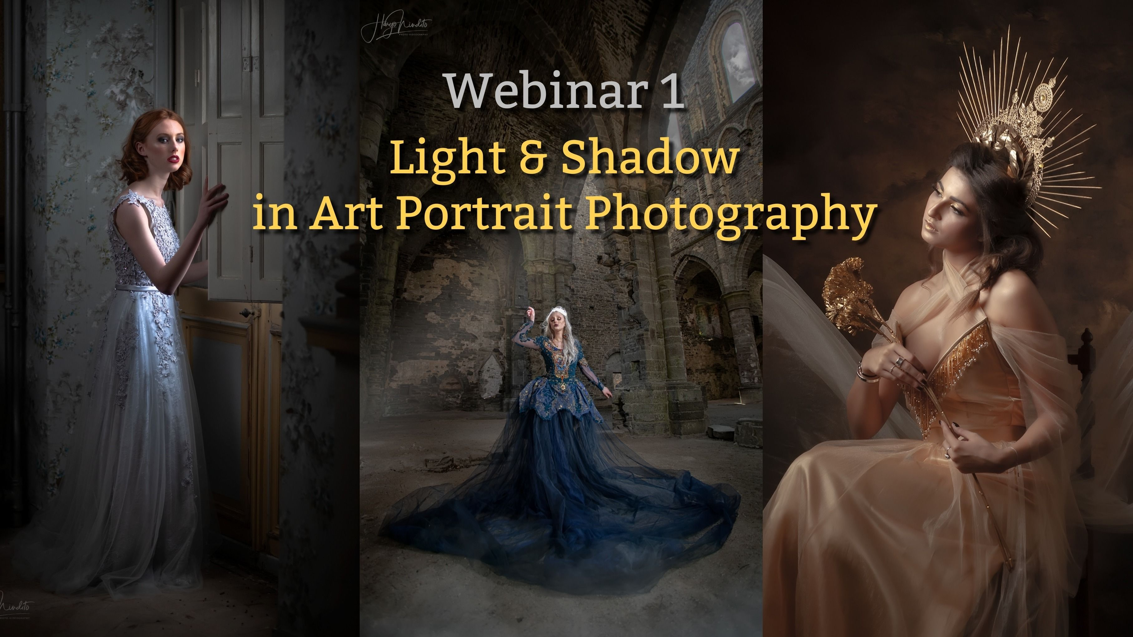 Webinar 1: Light and Shadow in Art Portrait Photography