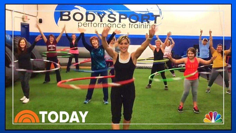 Online Hula Hoop Fitness Class Free Meetup