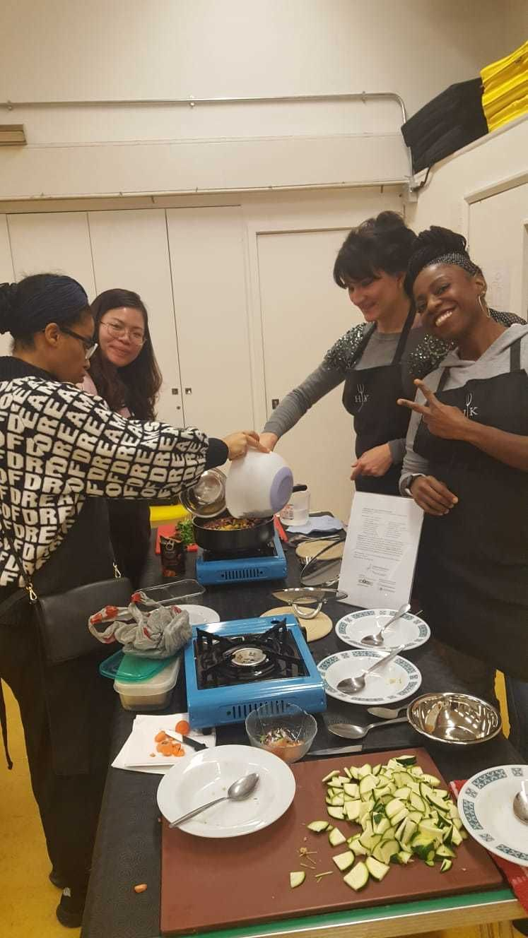 London Vegan Cooking Classes