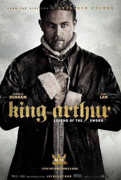King Arthur Legend of the Sword Movie meetup no reading