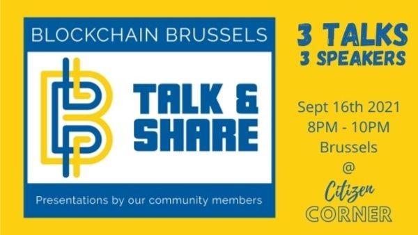 Blockchain Talk & Share (3 speakers on stage)