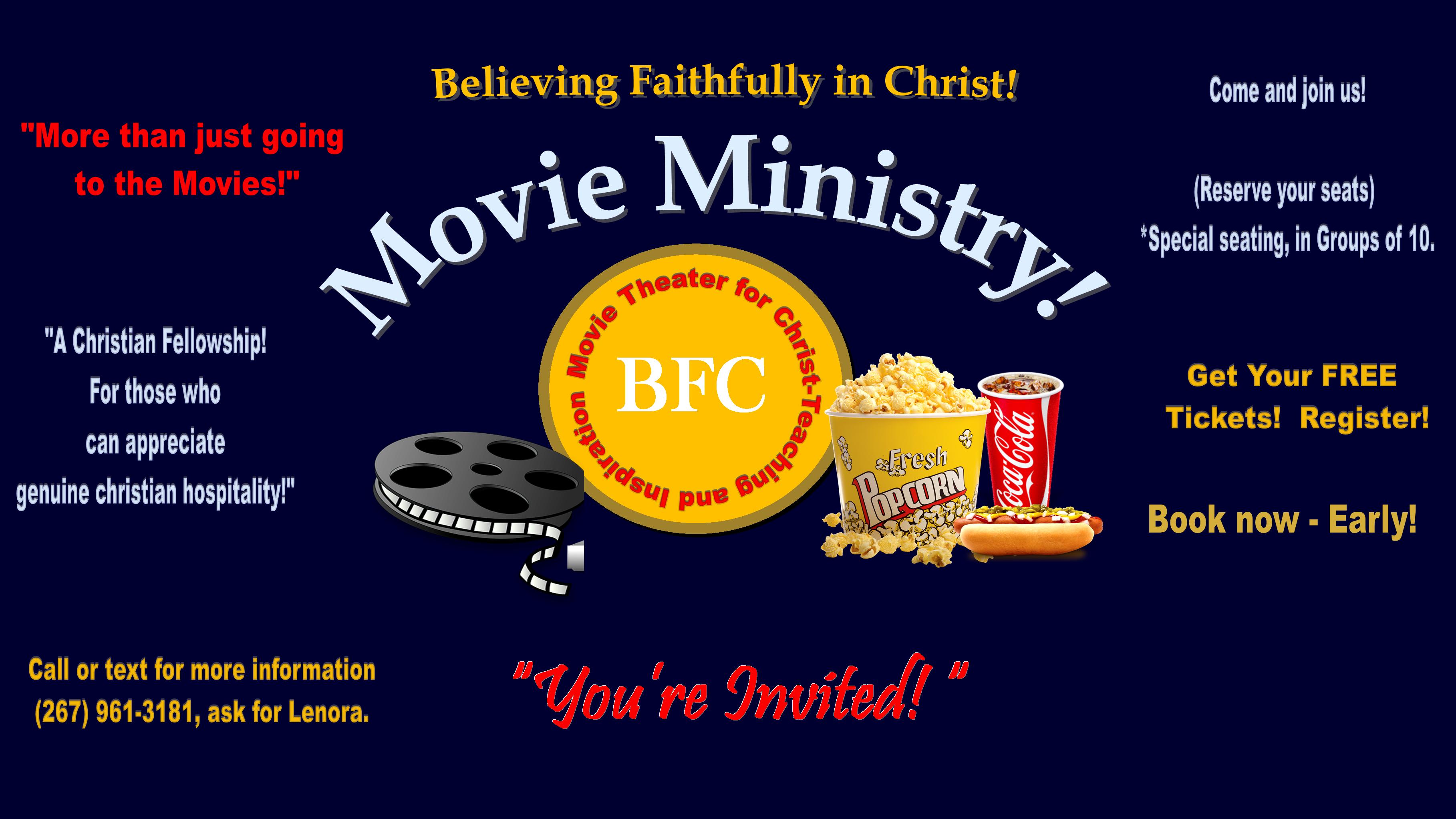 BFC Family - Movie Ministry  & Fellowship