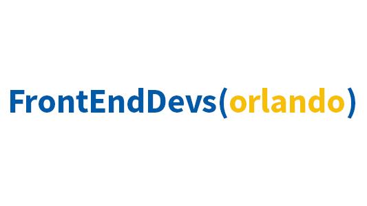 Front End Devs Orlando