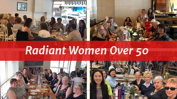 Radiant Women Over 50 Coffee & Friendship Melbourne