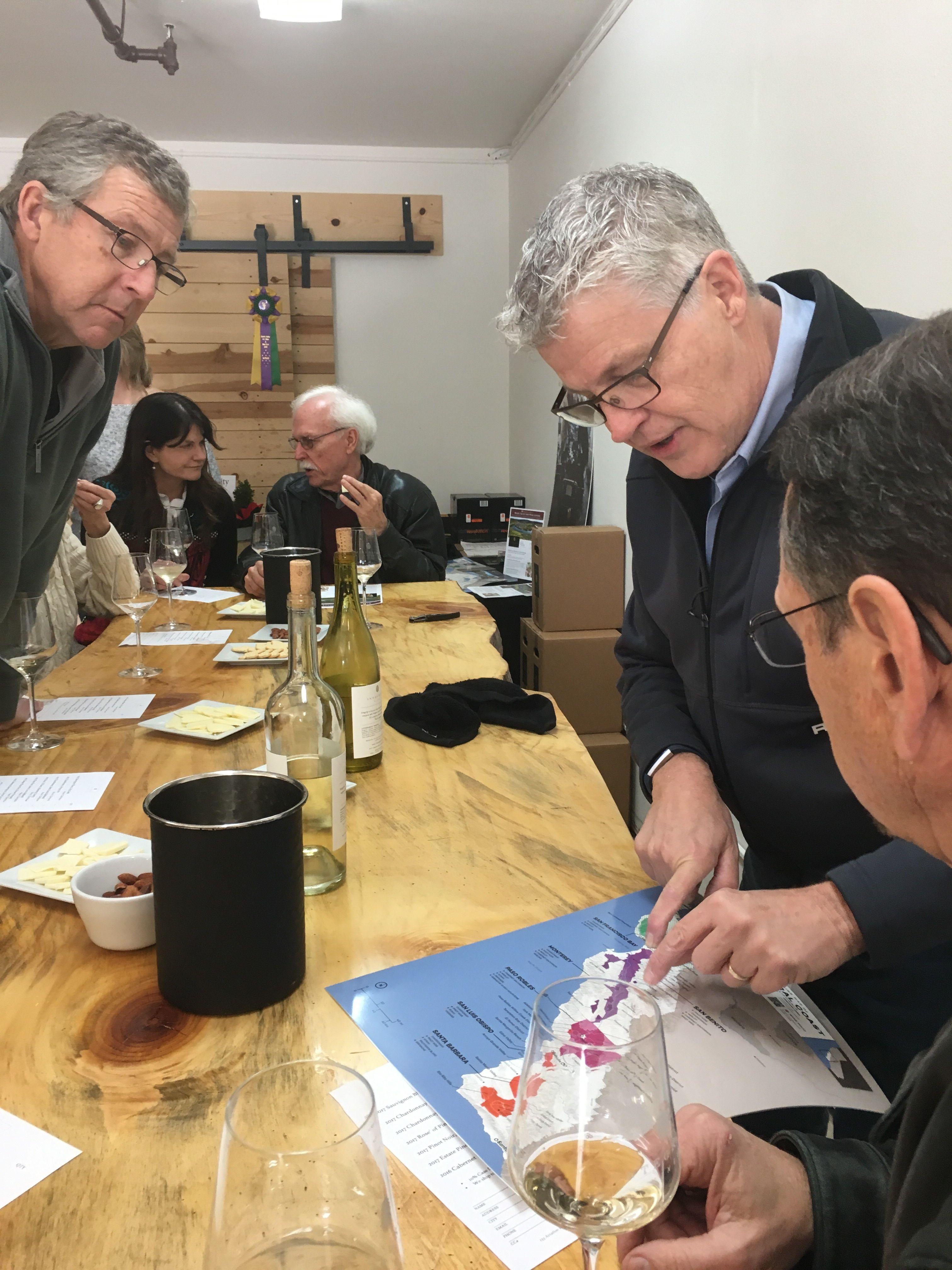 Santa Cruz Mountains Wine Tasters