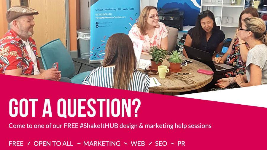 #ShakeItHUB Design and Marketing