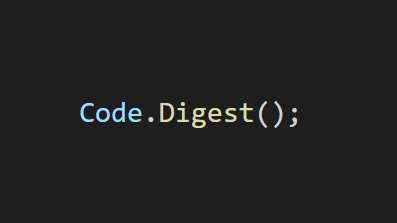 Code.Digest();