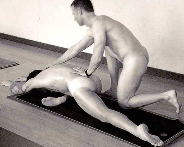 Valuable idea naked yoga men what words