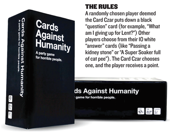 Cards against humanity austin