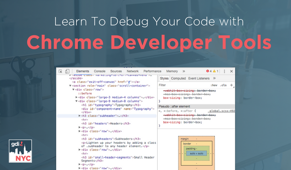 Learn To Debug Your Code with Chrome Dev Tools