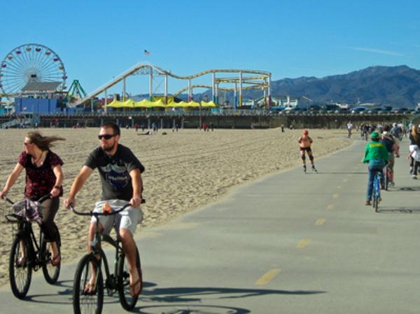 Sunday Bike Path Ride: Marina Del Rey To Santa Monica