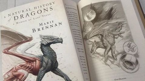 Book Club: A NATURAL HISTORY OF DRAGONS by Marie Brennan