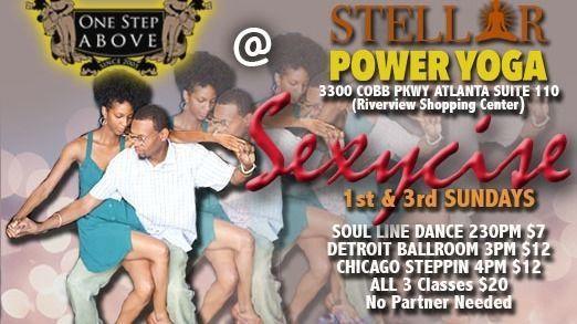 Sexycise Sunday/ Line Dance ,Detroit Ballroom & Chicago Steppin