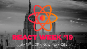 Photo for React Week '19 July 15 2019