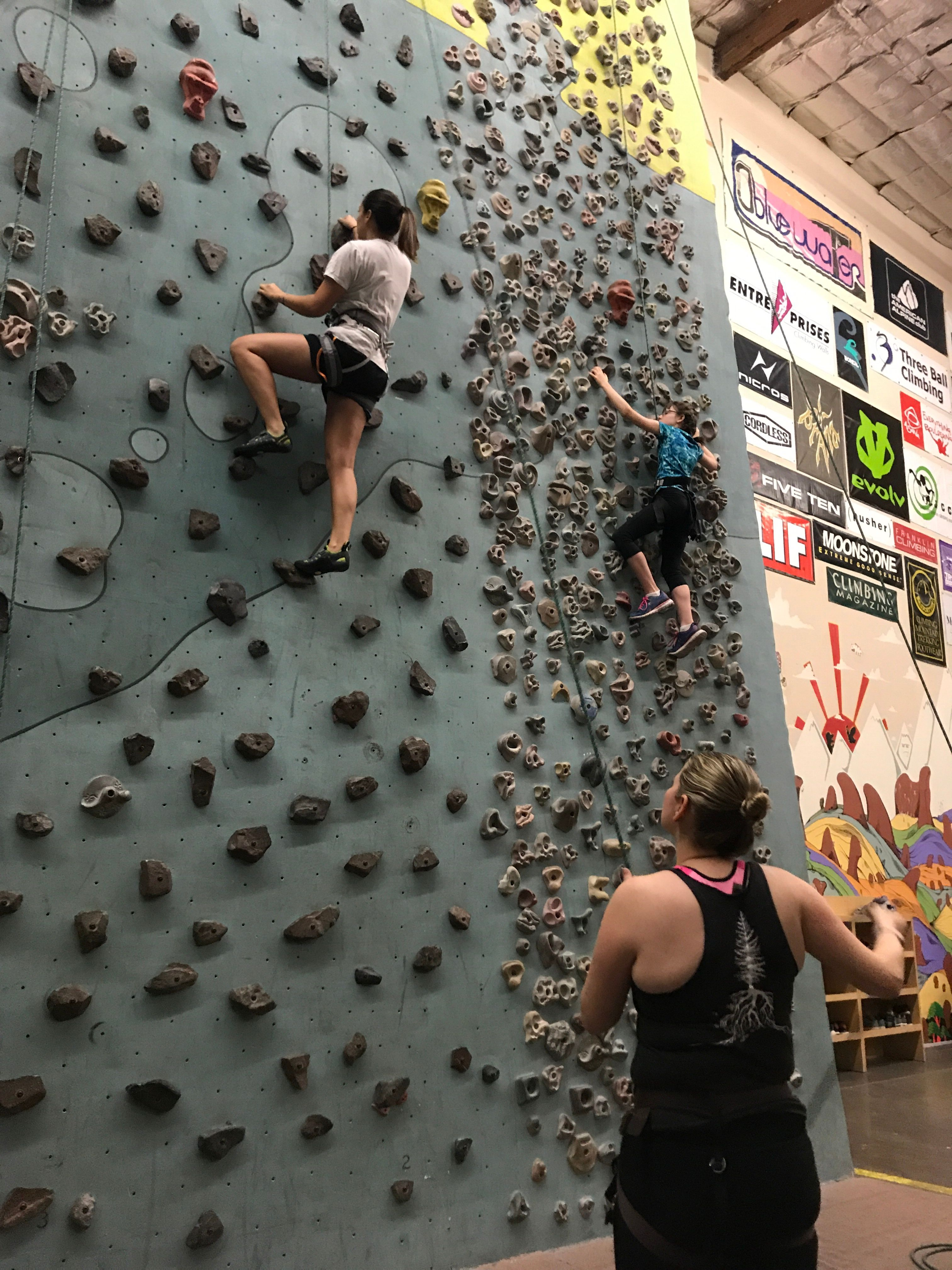 Climbing (and other fun things) for Novices