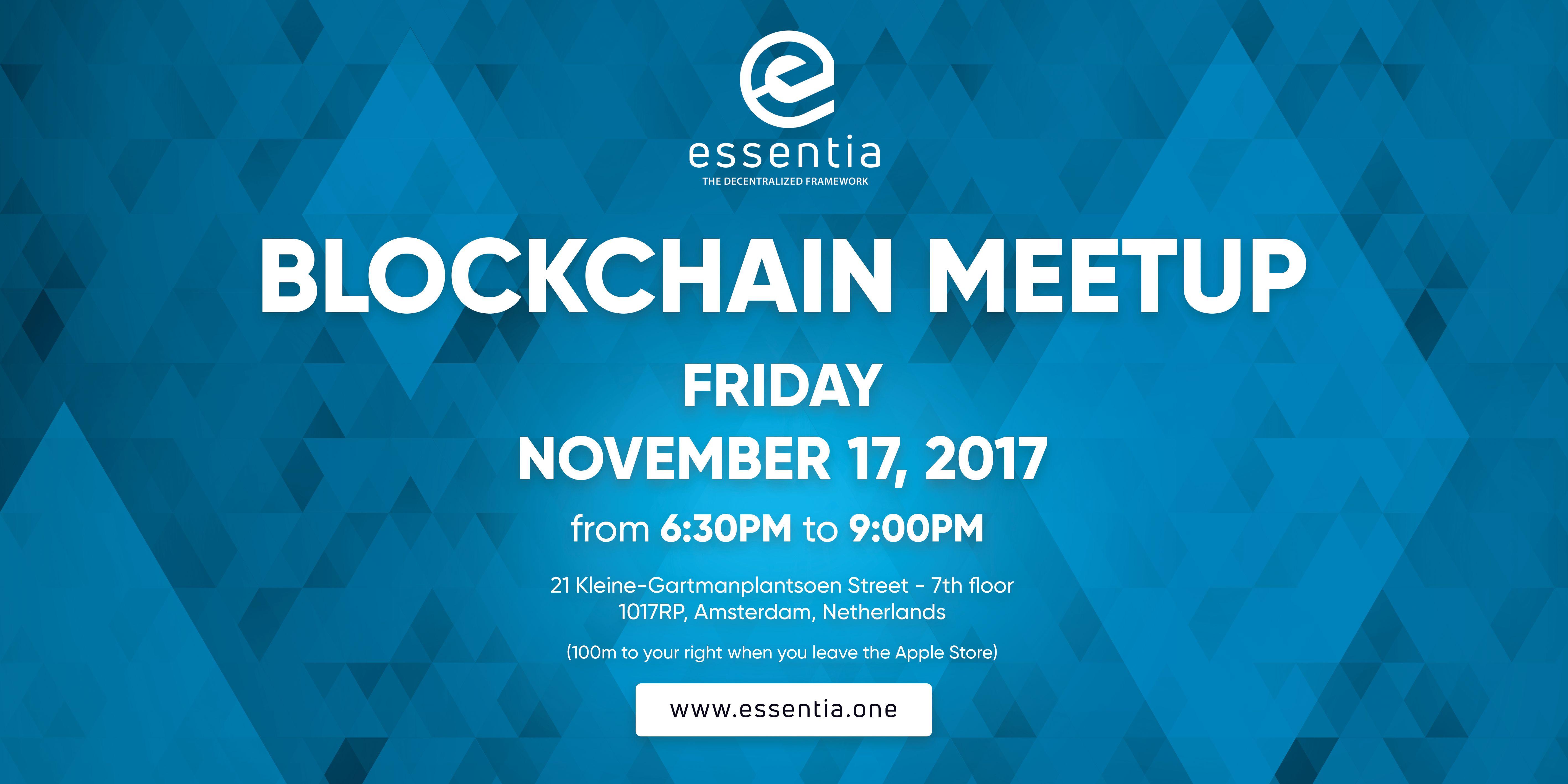 Amsterdam Blockchain Meetup