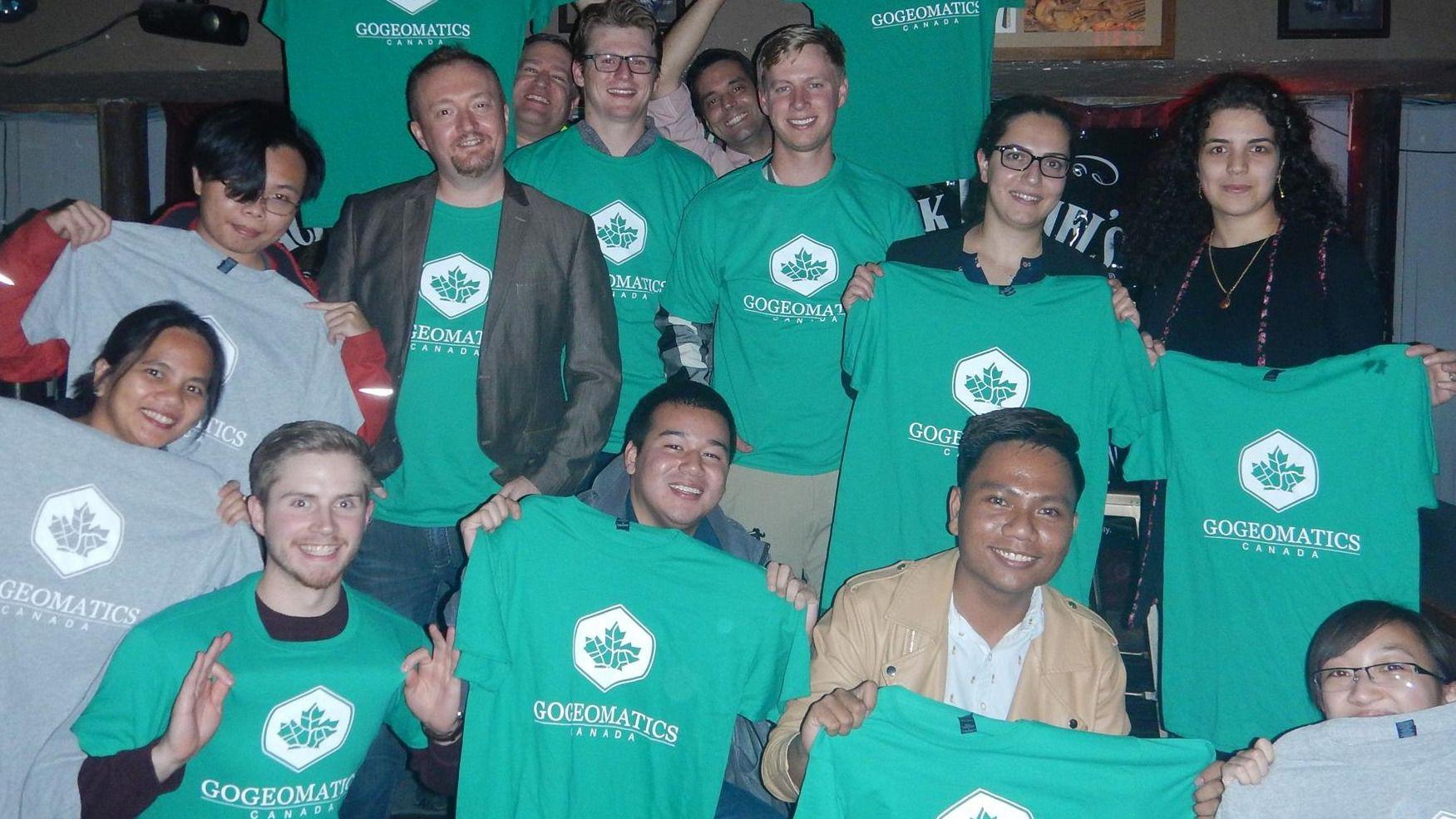 Calgary GoGeomatics Canada Monthly Networking Social