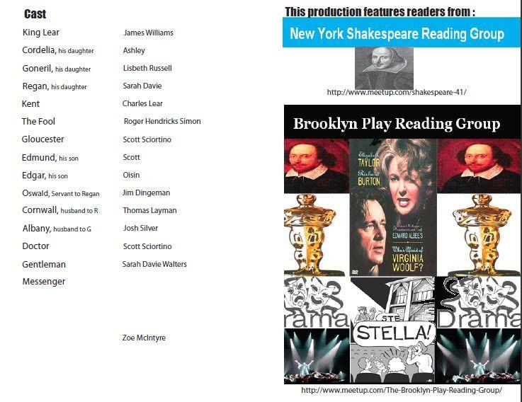 Brooklyn Play Reading Group