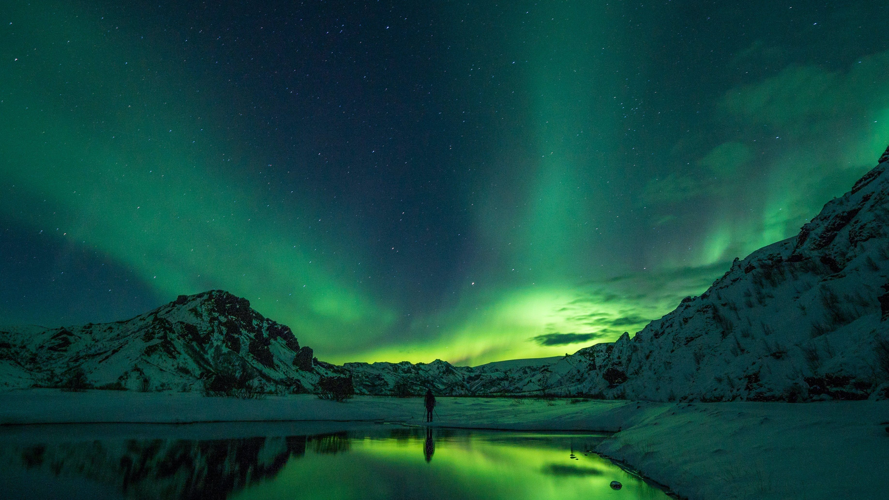 Chasing Northern Lights in Iceland while Coworking ☄️????