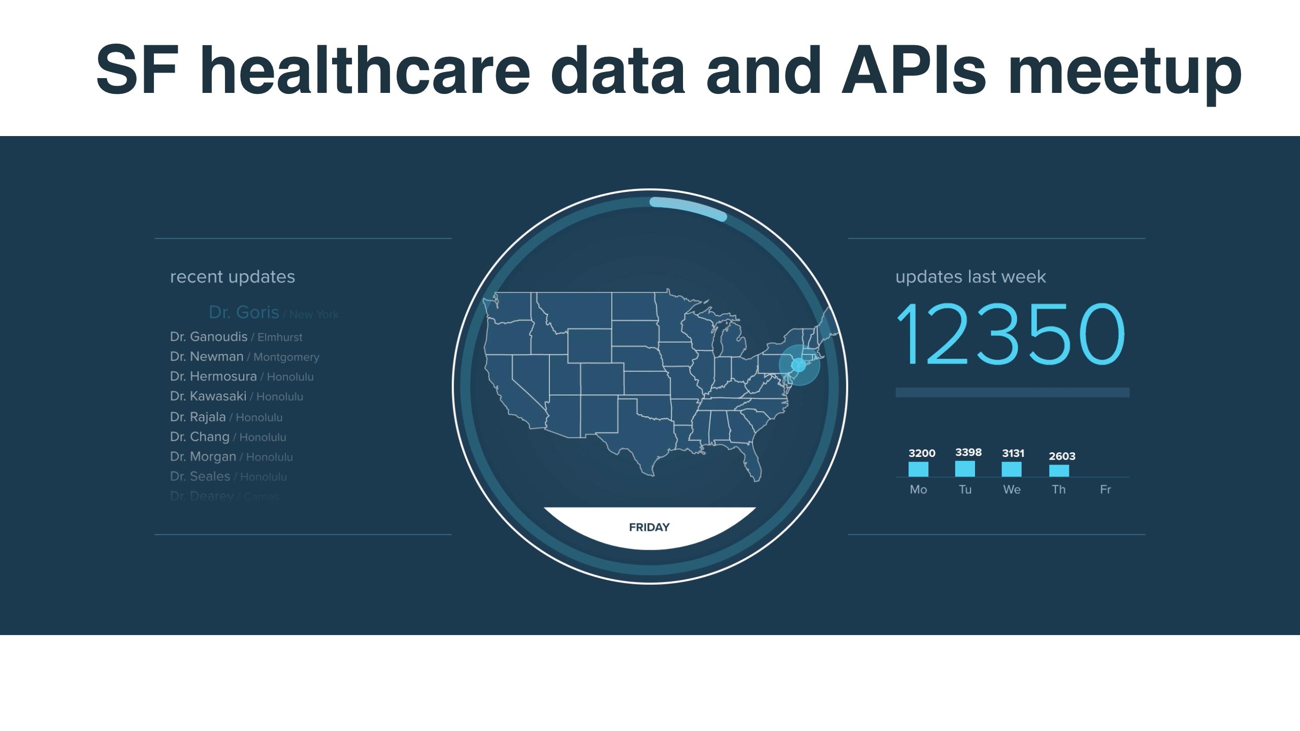 San Francisco Healthcare Data Science & APIs