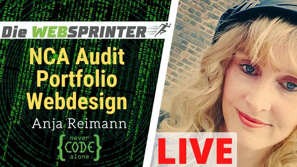 NCA Audit - Webdesign ist Kunst - Portfolio von Anja Reimann
