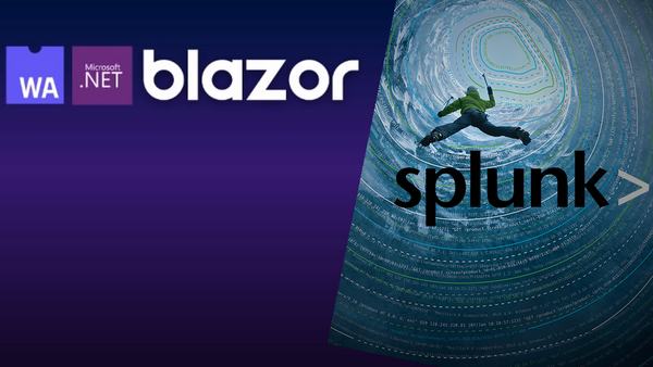 Introduction to Splunk with Tom West and Blazor with Jamie