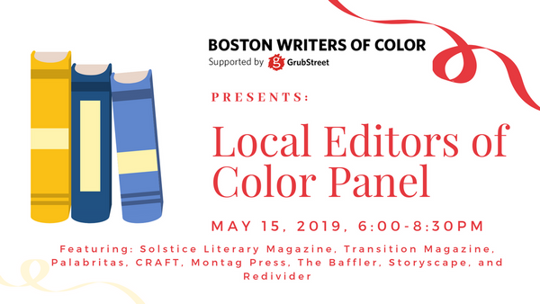 Boston Writers of Color: Local Editors of Color Panel | Meetup