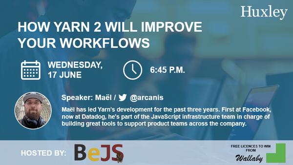 BeJS #6 : Javascript meetup in Brussels (Online)