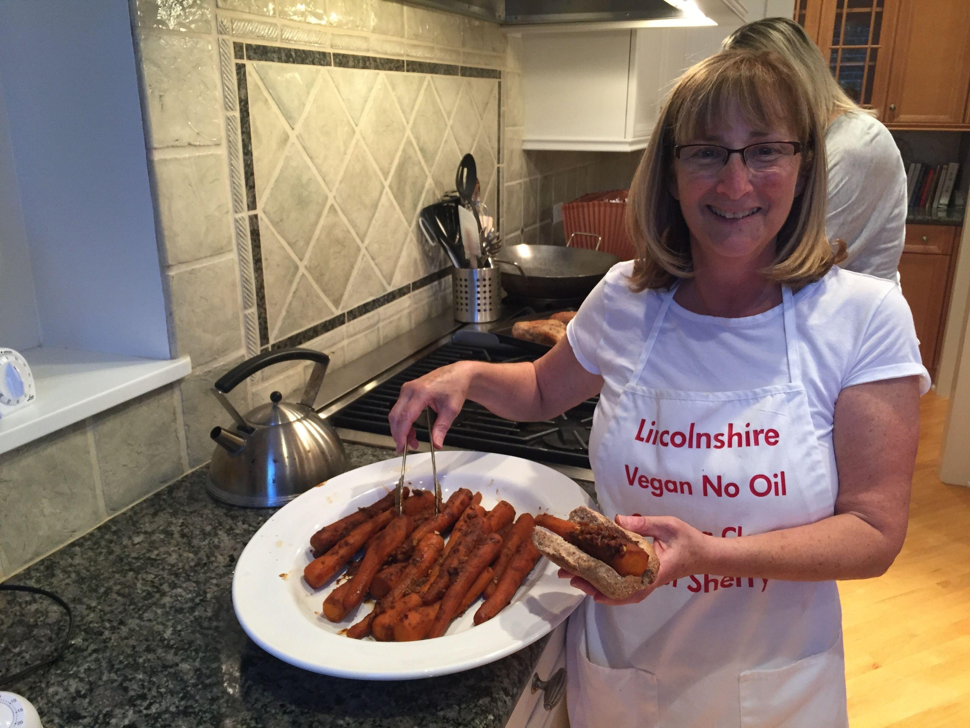 Lincolnshire Vegan, No Oil Cooking Club Meetup