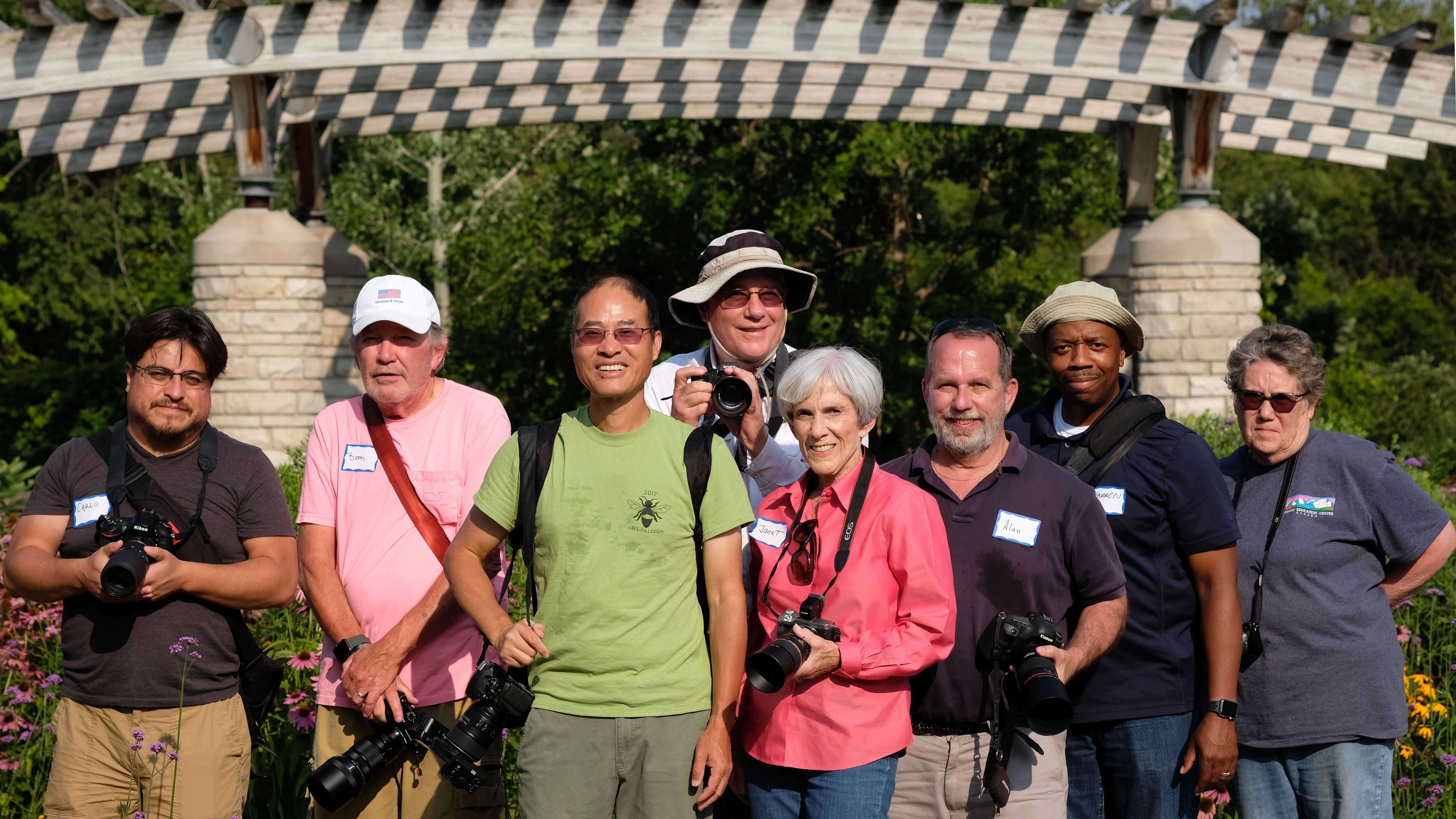 Group Photo With Only Part Of The Group, By Patrick With A Fuji Mirrorless.