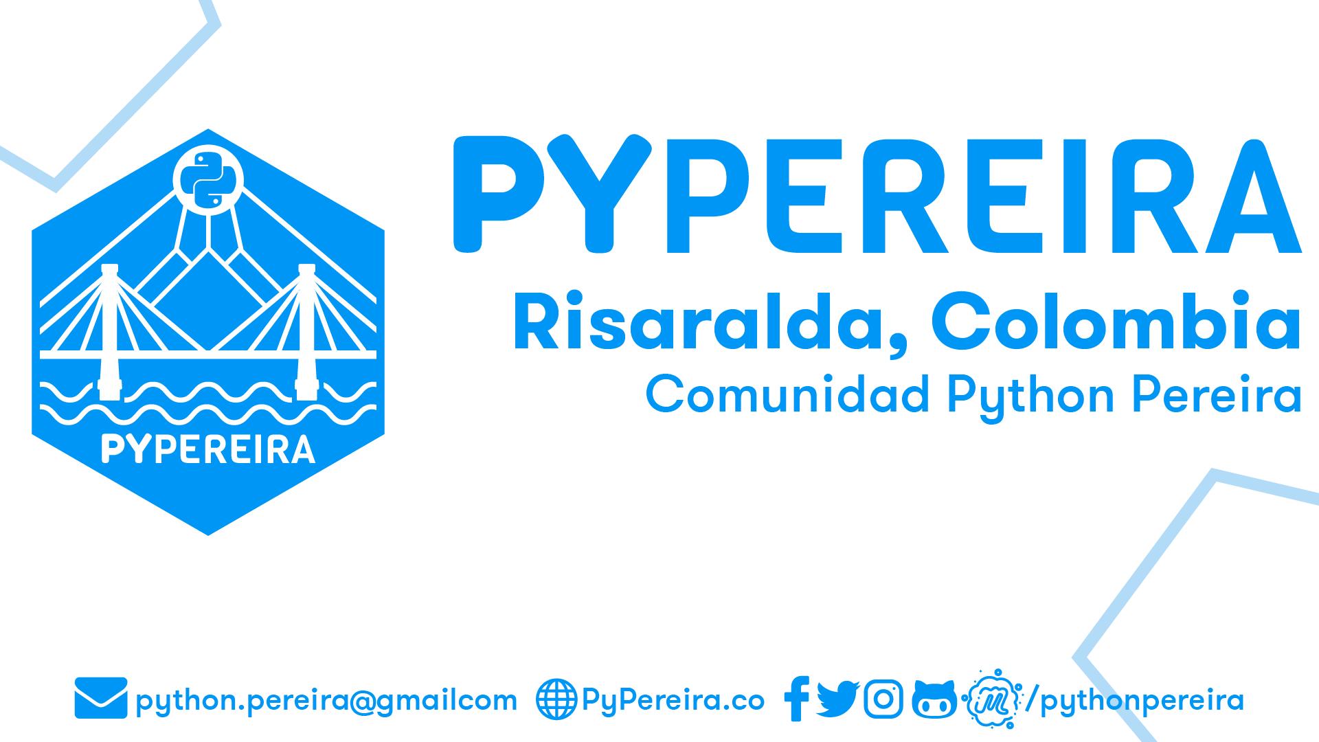 Python Pereira - PyPereira