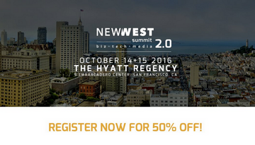 50% off tickets for New West Summit - promo code 'cannatech