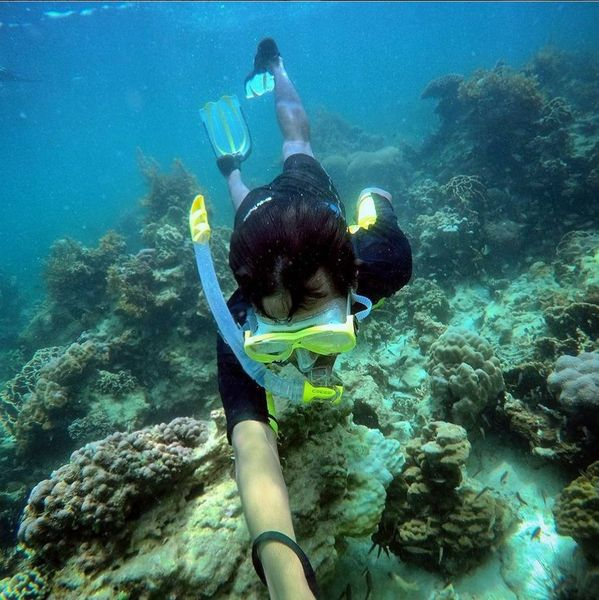 Let's snorkel and island hop to No Man Islands - Batam starting at Riau Islands Province, Batam City, Indonesia